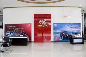 Showroom Toyota Thái Nguyen