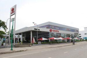 Dự án Toyota Thái Nguyên đang hoạt động