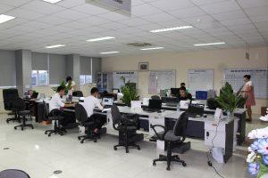 Khu vực làm việc khối văn phòng