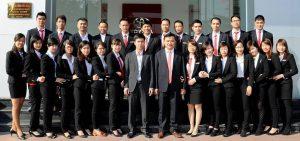 Đội ngũ nhân viên khối văn phòng